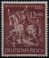 ALLEMAGNE DEUTSCHES III REICH 780 ** MNH Orfèvrerie Goldschmiedekunst Or Gold Artisanat - Germany