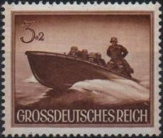 ALLEMAGNE DEUTSCHES III REICH 791 ** Militaria : Vedette Torpedo Et Soldats (adh) - Germany