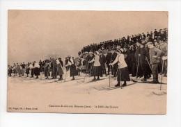 Concours De Skis Aux Rousses (39) - Le Défilé Des Skieurs(13) - France