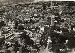 MOULINS  Vue Aérienne Sur Les Jardins De La Gare Et L'avenue Th De Banville Recto Verso - Moulins