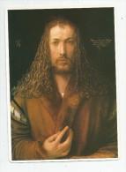 Image , 22 X 16, Peinture , DÜRER , Autoportrait  ,2 Scans , Fiche Descriptive, Frais Fr : 1.90€ - Fiches Illustrées
