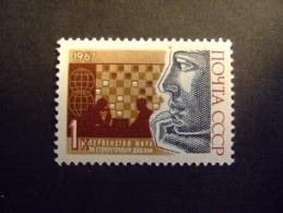 RUSSIA    1967  MICHEL 3381  DRAUGHTS       MNH ** (053600-NVT) - Giochi
