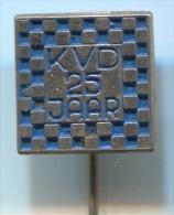 KVD - Netherlands, Holland, vintage pin, badge