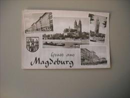 ALLEMAGNE SAXE-ANHALT GRUSS AUS MAGDEBURG - Magdeburg