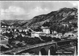 MARRADI (FI) - PANORAMA - F/G - V: 1953 - FERROVIA - Firenze (Florence)