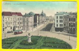 RUE LEOPOLD DE WAEL & ARRET DU TRAM Te ANTWERPEN - HALTE TRAMWAY - VICINAL - CHEMINS De FER   T88 - Antwerpen