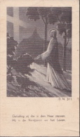 Doodsprentje (6587) Bouchaute Boekhoute - Sijsele - ACKE / D'HOOGE 1893 - 1942 - Images Religieuses