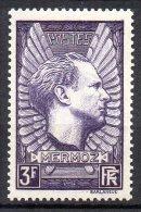 France N° 338 Neuf  X  Luxe Cote 6,00 Euro Au Quart De Cote - France