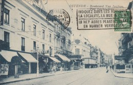 BELGIQUE - OSTENDE - LE BOULEVARD VAN ISEGHEM - Belgique