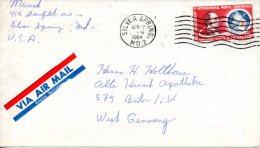 USA. PA 62 De 1963 Sur Enveloppe Ayant Circulé. Conférence Postale De Paris. - Posta