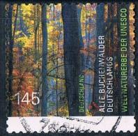 2014   Alte Buchenwälder Deutschlands  (selbstklebend - Selfadhesif) - BRD