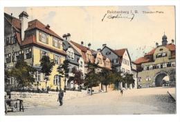 (1232-00) Reichenberg - Bohême - Theodor Platz - Cachet Militaire - Tschechische Republik