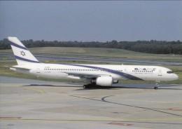 EL AL, Boeing 757-258 ER, Unused Postcard [15283] - 1946-....: Moderne