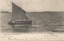 Congo Gold Coast 1904 Accra Le Lac Baffo Post Card By Visser No. 26 To Ireland - Belgisch-Congo - Varia