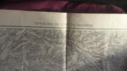 Sissonne  -    Carroyage Kilometrique  -  Projection Lambert  -  Zone De Guerre Nord - Geographical Maps