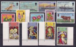 1972 Guernsey ANNATA  YEAR Completa 4 Serie Con 13 Valori (57/69) MNH** - Guernesey