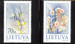 Lithuania 1999 Christmas & New Year MNH - Lithuania
