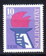 ALEMANIA DDR 1977.YVERT Nº1934.SOLIDARIDAD INTERNACIONAL  .NUEVO SIN CHARNELA  SES579 - [6] República Democrática