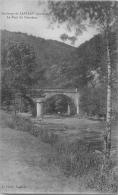 TOP 860   CPA Environs De LAPLEAU  Le Pont Du Chambon Belle Carte - Autres Communes