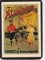 CPM ( GRD.  MOD. )  CYCLES  ALUMINIUM - Publicidad
