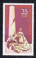 ALEMANIA DDR 1977.YVERT Nº 1933 MONUMENTO SOVIETICO EN BERLIN-SCHÖNHOLZ  NUEVO SIN CHARNELA  SES579 - [6] República Democrática