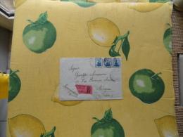 1921  Raccomandata  Registered Mail Da Alexandria A Bologna 3 Pezzi  10 Cent. Arrivo Al Verso Ceralacca - 1915-1921 Protectorat Britannique