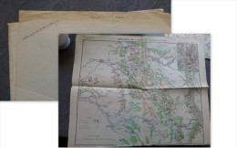 MOTHIER De La FAYETTE, Mention Manuscrite Sur Carte Guerre 1870 Armée De CHALONS,  Ref 334 - Autogramme & Autographen