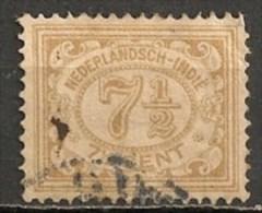 Timbres - Pays-Bas - Indes Néerlandaises - 1902-1909  -  7 1/2 Cent. -