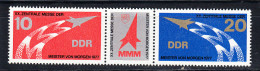 ALEMANIA DDR 1977.YVERT Nº 1939A TRIPTICO.SALON DE LOS JOVENES INVENTORES  .NUEVO SIN CHARNELA  SES011 - [6] República Democrática