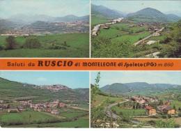 Ruscio Di Monteleone Di Spoleto Vedute - Perugia - Perugia