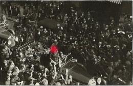 Postkarte Hitler Im Offenen Wagen In Bayreuth Echtfoto ~1935/40 - Politicians & Soldiers