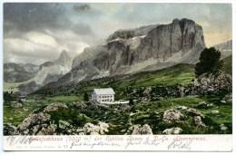 Sellajoch - Haus, Sekt. Bozen, Gröden, 19.8.1904, Fassatal, Amonn M 27, Südtirol, Wolkenstein - Non Classés