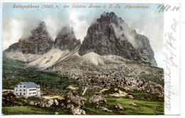 Sellajoch - Haus _ 2,  Sekt. Bozen, Gröden, 17.8.1904, Fassatal, Amonn M 26, Südtirol, Wolkenstein - Non Classés