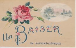 Savigné L´Eveque 72 Sarthe Un Baiser - France