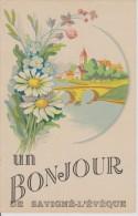 Savigné L´Eveque 72 Sarthe Bonjour - France