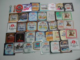 39 Beerlabels From Eichendorf (Br Baierl (1968) - Gräfl Arco-Valley) - Autres Collections