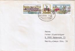 "E1048 Briefhülle Bahnpost ""BERLIN-EISENACH"" 1985 - DDR"