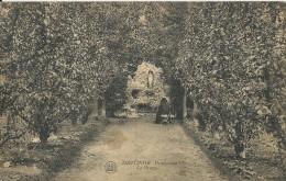 Deftinge    Pensionnat,   La Grotte;  RELAIS Stempel  -   1921  Naar Sint-Nikolaas - Lierde