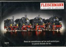 - CATALOGUE FLEISCHMANN . LE TRAIN MODELE DES PROFESSIONNELS . 1989/90 - Littérature & DVD
