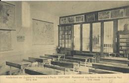 Deftinge    Pensionnat,   La Grotte;  RELAIS Stempel  -   1924   Naar Sint-Nikolaas - Lierde