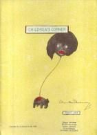 - CHILDREN'S CORNER  . PARTITION DE CLAUDE DEBUSSY . - Klassik