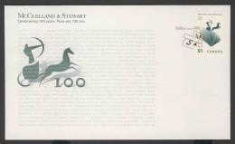 Canada 2006 FDC + Mi 2330 - Logo Publisher – Cent. McCelland & Stewart / Verlag - Verlagsemblem, Offenes Buch - Omslagen Van De Eerste Dagen (FDC)