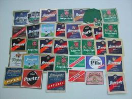 70 Beerlabels From Erfurt (Braugold - Waldhaus Bräu - Steiger Bier (1994)) - Bière