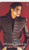 MICHAEL JACKSON (37)  TELECARTE JAPON * Telefonkarte Japan * Musique - Music - Muziek - Musiek - Muziek
