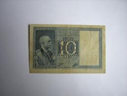 Billet De  10 Lire De 1939 - Regno D'Italia – 10 Lire