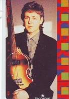 Télécarte Japon * 110-84326 * THE BEATLES * PAUL MC CARTNEY (7)  Musique * Music Japan Phonecard - Music