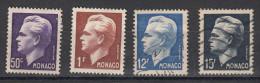 Prince Reinier 4 Valeurs - Used Stamps