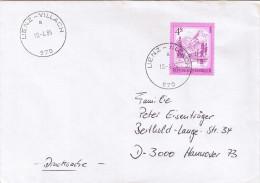 """E1078 Briefhülle Bahnpost Oesterreich """"LIENZ-VILLACH"""" 1985 - 1945-.... 2ème République"""