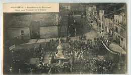 21884 - MARVILLE - BENEDICTION DU MONUMENT ELEVE AUX VICTIMES DE LA GUERRE - Frankreich