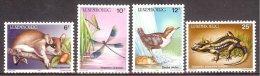 Lux- Yv 1118/21 ,Année Européenne De L'Environnement: Eliomys,Calopteryx,Cinclu S,Salamandra  **/mnh - Postzegels